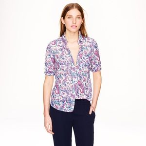 Liberty Print Boy Shirt